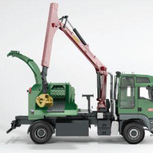 Mobiilne puiduhakkur JENZ CHIPPERTRUCK HEM 540